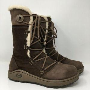 Chaco Belyn Baa Vibram Nuri Winter Boots Size 9.5
